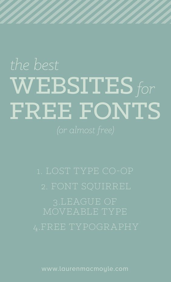 Best websites for free fonts
