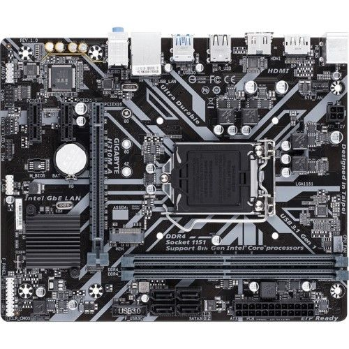 Gigabyte Technology H310m A Gigabyte Ultra Durable H310m A Desktop Motherboard Intel Chipset Socket H4 Lga 1151 Gaming Computer Desktop Computers