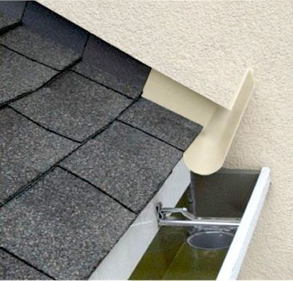 Rain Water Diverter Flatroofrepairtips How To Install Gutters Roofing Roof