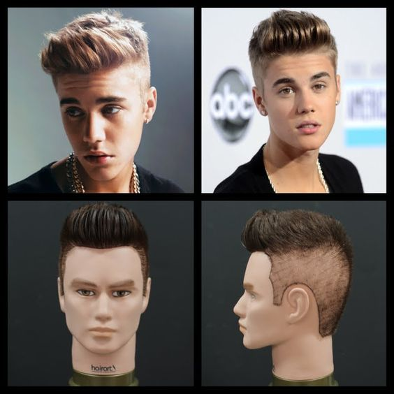 Quiff Haircut Justin Bieber Pinterest • The worl...