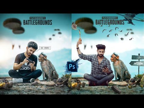 Pubg Lovers Trindingediting Monkey Concept Picsart Photo Editing Picart Pubg Games Love Background Images Photo Background Editor Blur Background In Photoshop