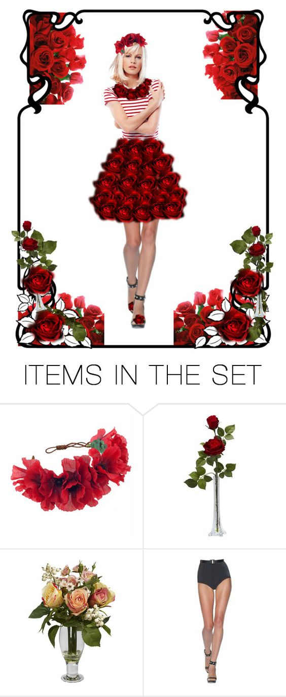 """""""Mystical Roses"""" by beleev ❤ liked on Polyvore featuring art"""