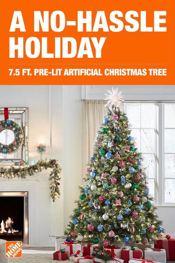 Pre Lit Artificial Christmas Tree Christmas Tree Artificial Christmas Tree Flocked Artificial Christmas Trees