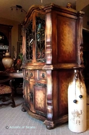 tuscan style hutch