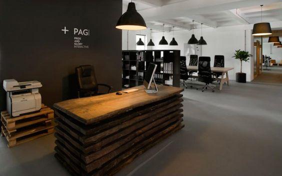  El mostrador de recepción, clave en el diseño de oficinas