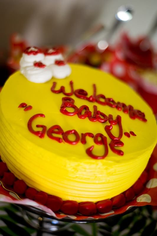 Curious George theme baby shower
