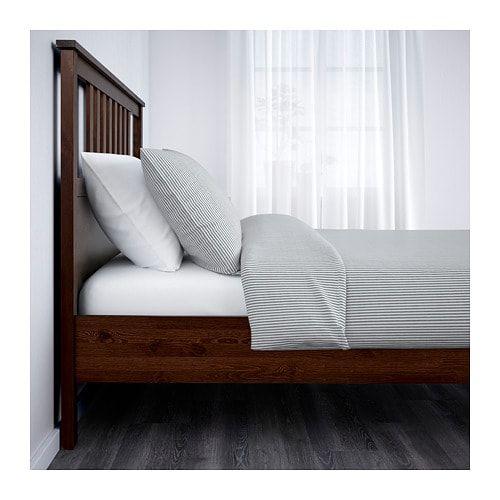 Hemnes Bed Frame Medium Brown Luroy Queen Hemnes Bed Bed