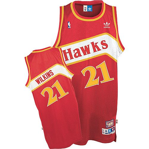 Adidas Atlanta Hawks Dominique Wilkins Soul Swingman Road Jersey $89.99