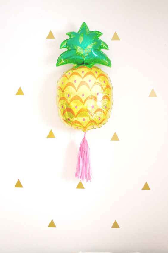 Ballon de gland ananas Tropical Beach ananas Party Decor