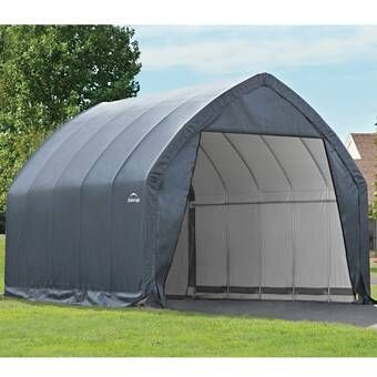 Carport 20 Ft X 20 Ft Canopy In 2020 Shed Kits Carport Steel Carports