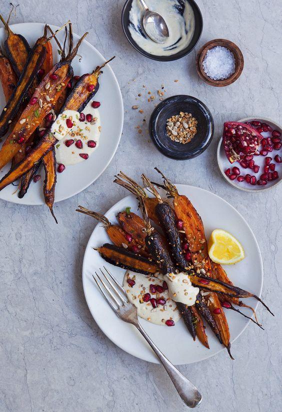 Harissa Carrots: