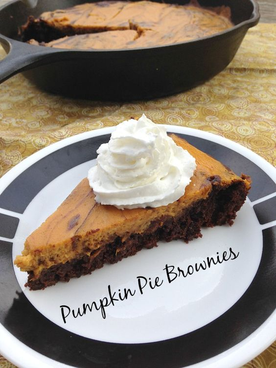 I love pie! Definitely in my top 5 favorites is PUMPKIN PIE. It is a staple at every Thanksgiving... or so I thought. For the first 23 years of my life, I did not know a Thanksgiving meal withou...