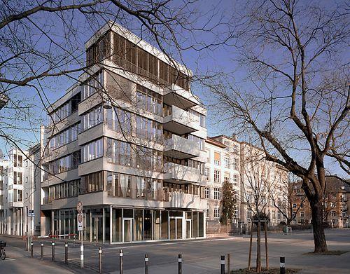 Peter Märkli - Wohnhaus Hohlstraße, Zürich  2005