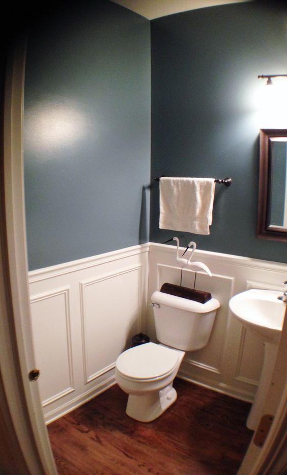 Benjamin Moore Downstairs Bathroom And Grey On Pinterest