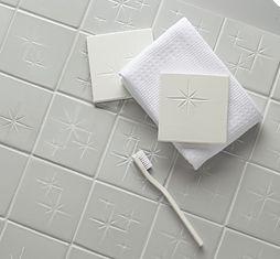 Barbara Barry Starburst Tile from Ann Sacks