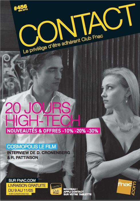 magazine Contact Fnac (France) Mai 2012