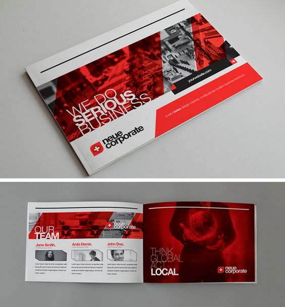 Beautiful Brochure Design: 50 Beautiful Printed Brochure Designs For Your Inspiration