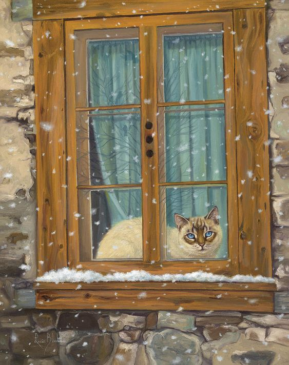 Lucie Bilodeau (b.1967) — Staying Warm (712x900)