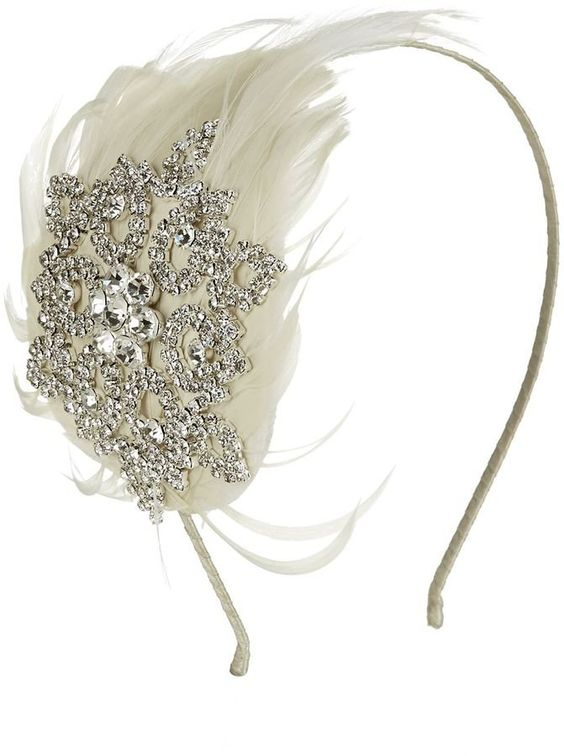 Pin for Later: Finish Your Flapper Outfit With the Greatest Hair Accessories House of Fraser Kaliko Jewel & Feather Fascinator House of Fraser Kaliko Jewel & Feather Fascinator (£49)