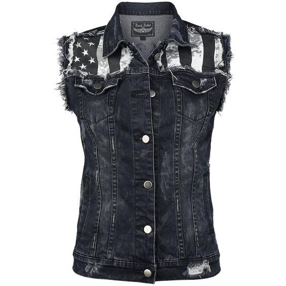 Jeans Waistcoat von Rock Rebel by EMP