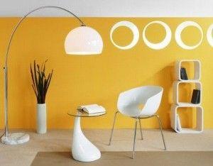 Sonniges Gelb Wohnzimmer Ideen
