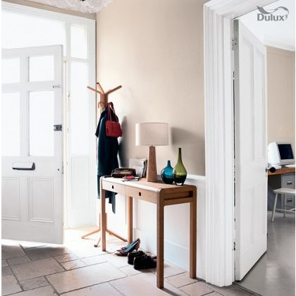 White Cotton Dulux paint - available now at Homebase in store and online at homebase.co.uk.