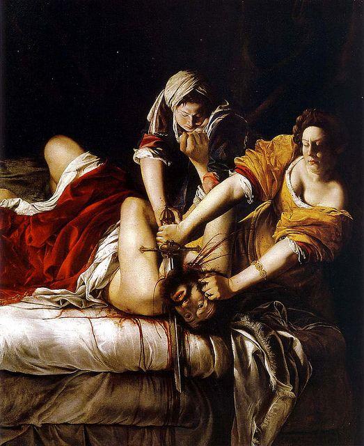 artemesia gentileschi judith slaying holofernes 1620 by brancusi52, via Flickr: