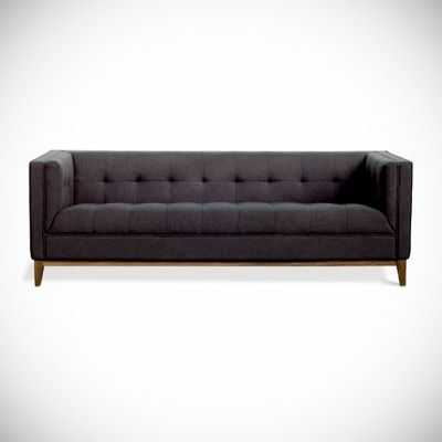 Another tufted sofa option.