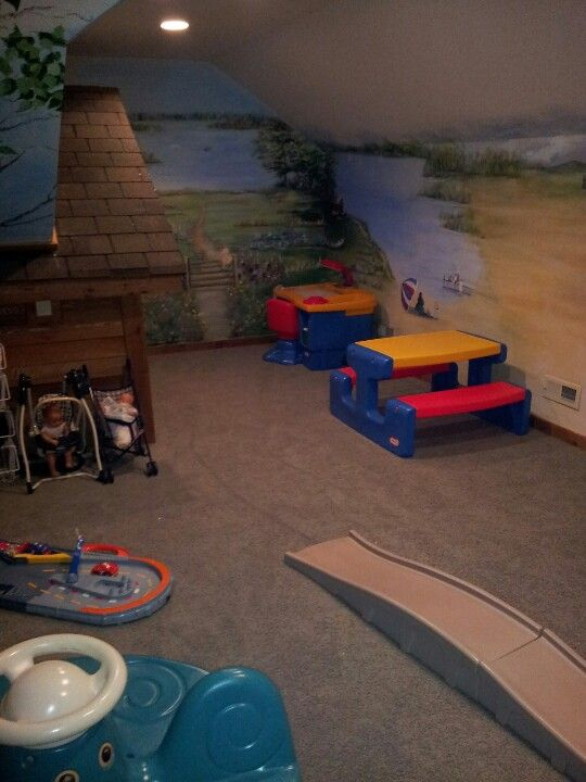 Coolest play room ever