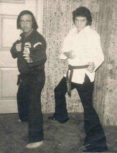 Image result for elvis presley 6th degree black belt