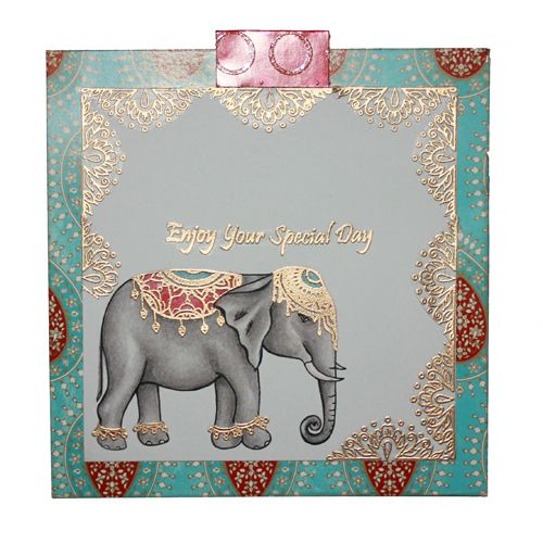 This is the gorgeous new 'Indian Summer' set designed by Sharon Bennett for Hobby Art. Card made by Sally Dodger: