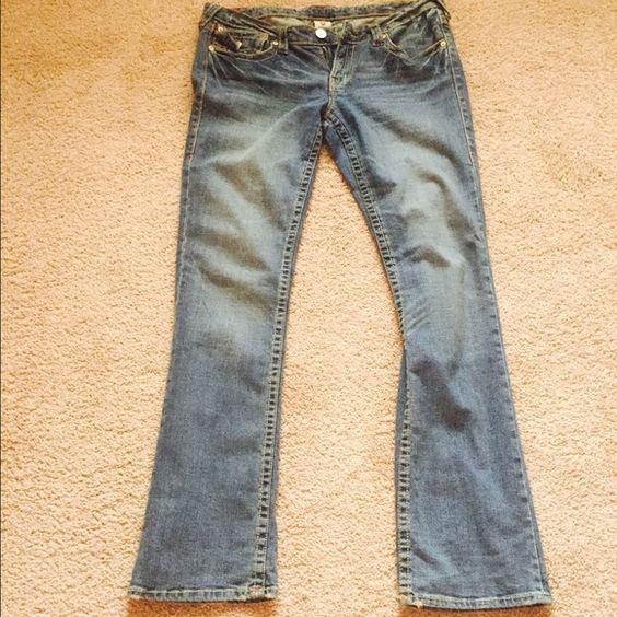 True Religion jeans, gr8 shape, size 31 True Religion Jeans, size 31, gr8 shape True Religion Jeans Boot Cut