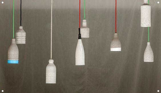 Martillo | Taller lámpara hormigón