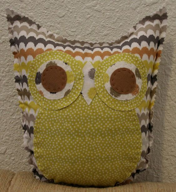 Scallop Owl Friend by makemorefriends on Etsy, $20.00