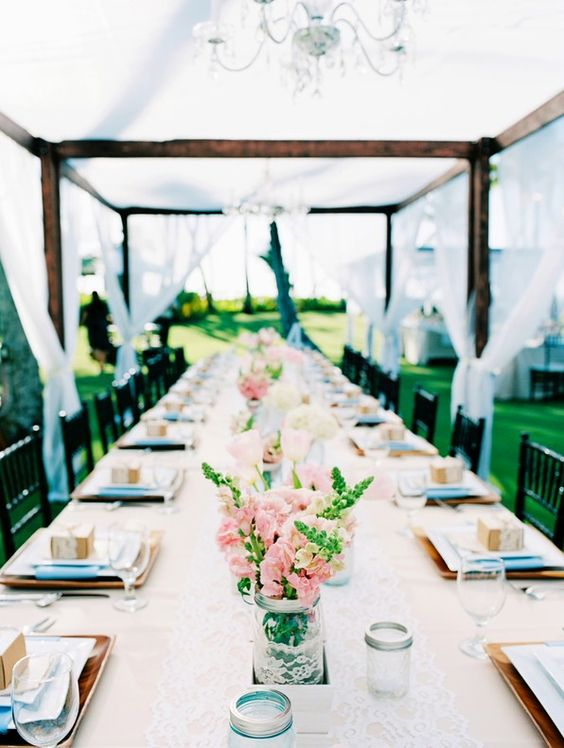 French Farm House Chic | gorgeous real wedding inspiration via AislePlanner.com