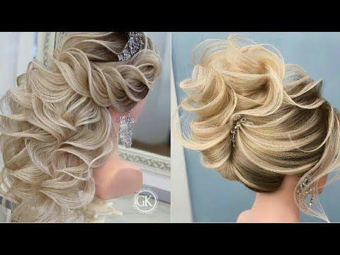 جديد تسريحات الشعر 2020 رائعة للعرائس أجمل تسريحات الشعر لجميع المناسبات والاعراس 2020 Youtube Penteados Cabelo 15 Anos