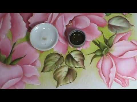 Loucos Por Pintura Aulas De Pintura Trabalhando Fundo Do