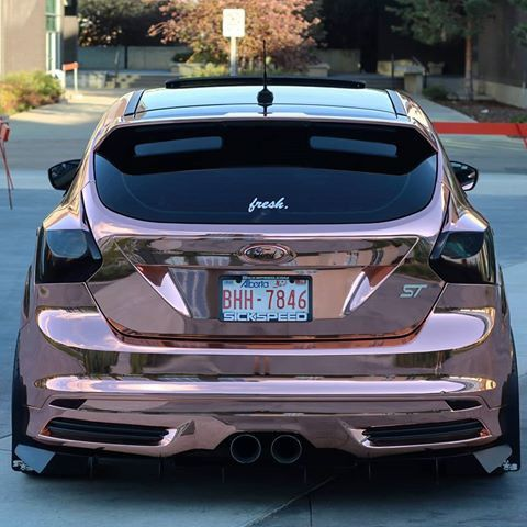 Rose Gold Pre Face Lift Focus St Ford Focus St Ford Focus Ford Focus Rs