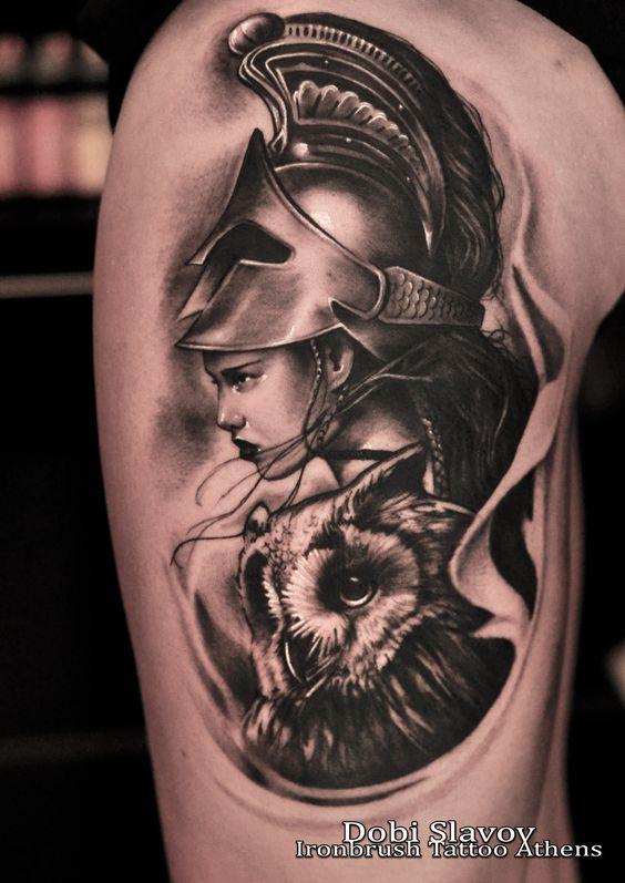 greek goddess athena � tatuagens pinterest new