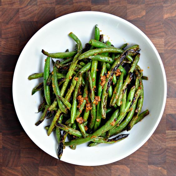 Grilled Green Beans with Cumin and Smoked Paprika | Recipe ...