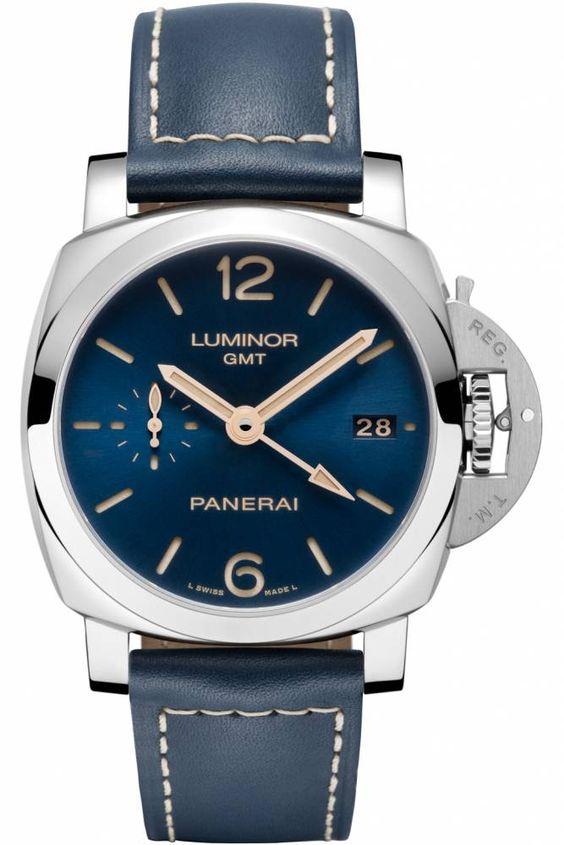 Panerai lance une série spéciale de Luminor bleues - Le Point Montres