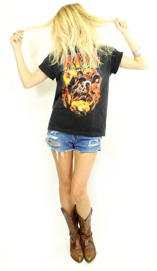 Kiss World Domination Tour Tee