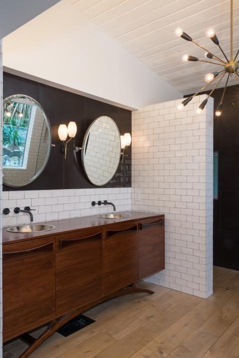 Midcentury Modern Bathrooms Modern Bathroom Modern Master Bathroom Modern Bathroom Tile