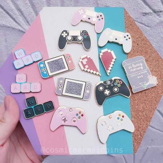 Image of Gamer Pins