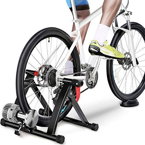 Yaheetech Fluid Bike Trainer Stand Indoor Bicycle Exercise Stand