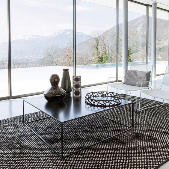 image Table basse métal carrée Romy AM.PM