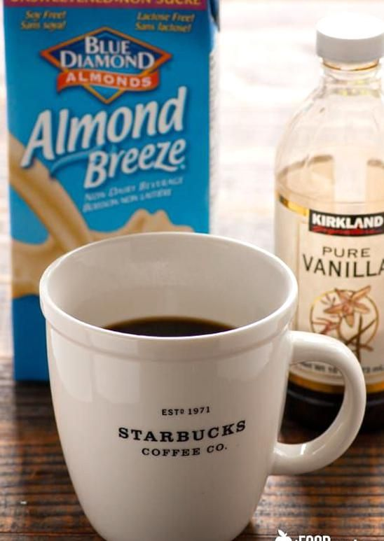 Healthy Iced Coffee Recipe With Almond Milk Sugar Free Low Calorie And Much Cheaper And He In 2020 Vanilla Iced Coffee Recipe Coffee Recipe Healthy Healthy Iced Coffee