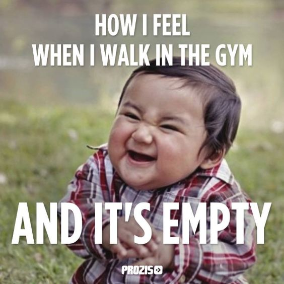 Funny Girl Gym Meme : I can do any workout want without waiting on other