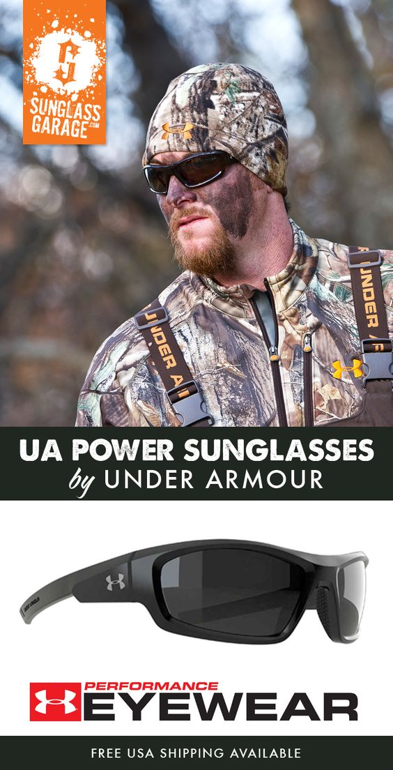 Under Armour POWER Sunglasses come equipped with an ArmourFusion frame, Three-Point rubber grip for a secure fit, and ArmourSight lens technology which is 10 times stronger than polycarbonate lenses and has 20% enhanced vision edge to edge. With its bold new design and best in class technology, Under Armour Power Sunglasses are the ideal style for the off-field / outdoor athlete.