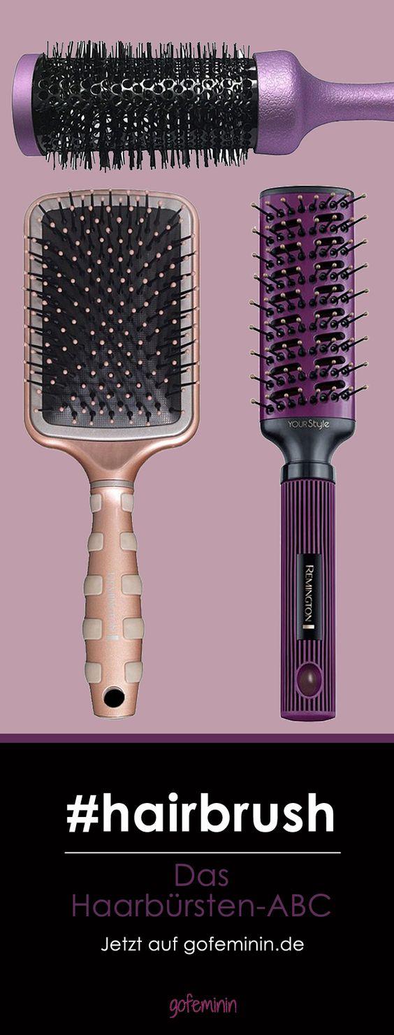 Welche Haarbürste passt zu welchem Styling? Jetzt auf gofeminin.de #gofeminin #hairbrush #hair #hairstyle #beauty #pintowin
